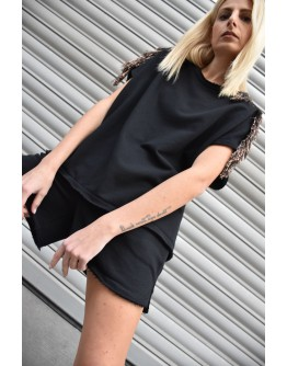 Stellar Sleeveless Top with Rayon Fringes
