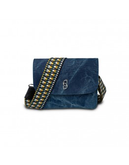 Blue Delave Shoulder Bag