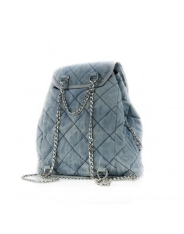 Azure Blue Backpack Bag - Limited Edition