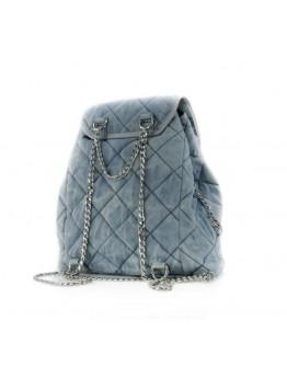 Azure Blue Backpack Bag - Limited Edition