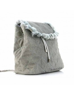 Soft Gray Backpack