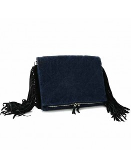 Diamonds and Fringes Clutch