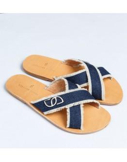Stellar Denim Classic Handcrafted Sandal